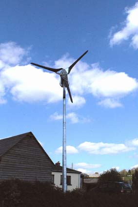 6kWh wind turbine at Barometer World